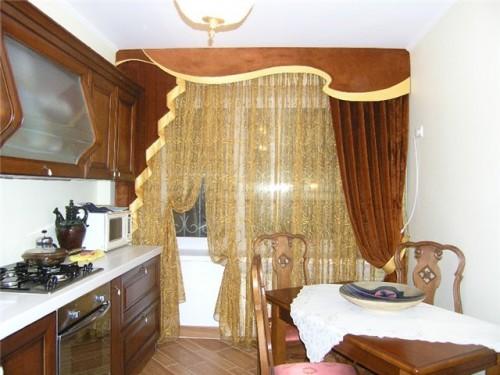 шторы для кухни фотографии