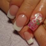 рисунки на ногтях красками