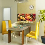 фотообои в интерьере кухни картинки