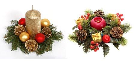 рождественское украшение дома в картинках