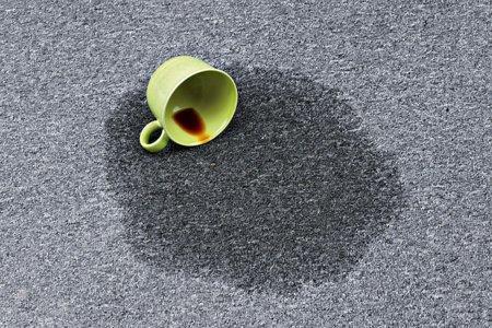 удаление пятен чая