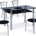 стеклянные столы для кухни картинки