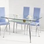 кухонные стеклянные столы  дешево