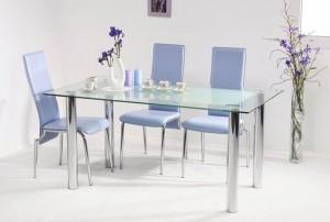 стекляные столы для кухни
