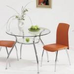 круглый стеклянный стол для кухни дешево