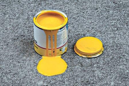 чем удалить пятно от краски