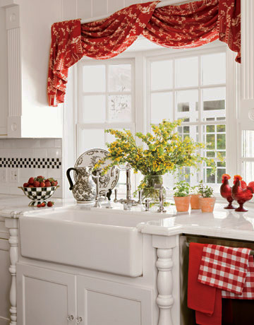 занавески для кухни картинки