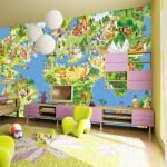 фотообои в интерьере квартиры детская