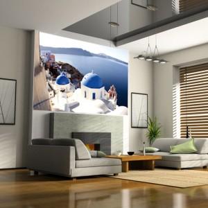 необычные фотообои в интерьере квартиры в картинках
