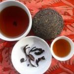 чай пуэр прет