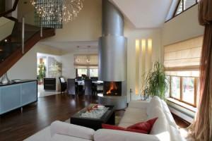 интерьер гостинной с камином картинки