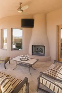 интерьер гостинной с камином на газу картинки