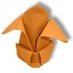 сервировка стола салфетки бумажные
