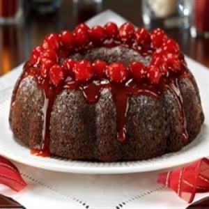 оформление торта черный лес в домашних условиях